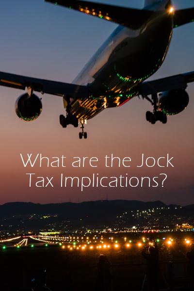 What is a Jock Tax?