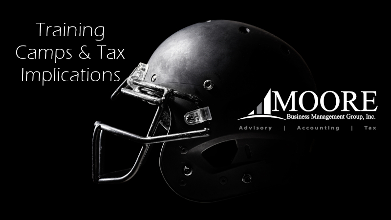 Sports Training Camp and Tax Implication